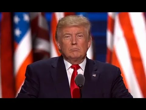 FULL SPEECH: Donald Trump at RNC. July 21, 2016. Republican National Convention. Cleveland, Ohio.