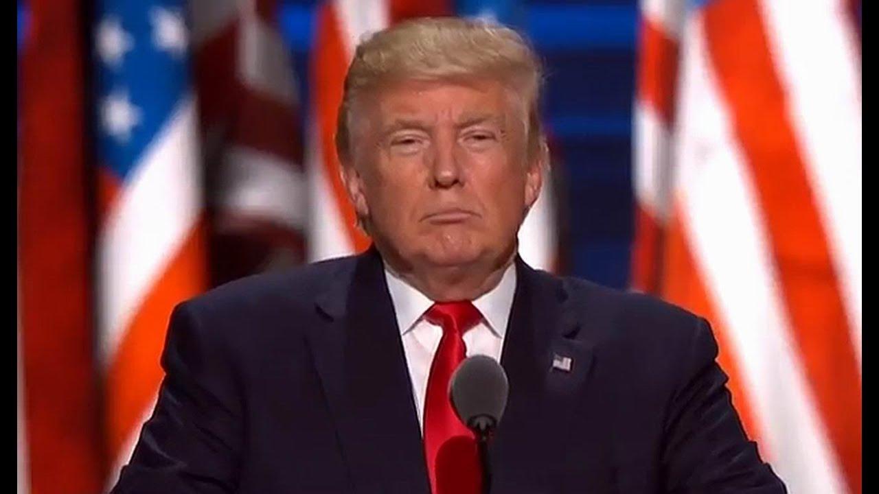 FULL SPEECH: Donald Trump at RNC. July 21, 2016 ...