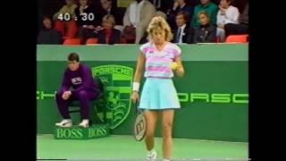 Martina Navratilova vs Chris Evert 1987 Filderstadt 1/3