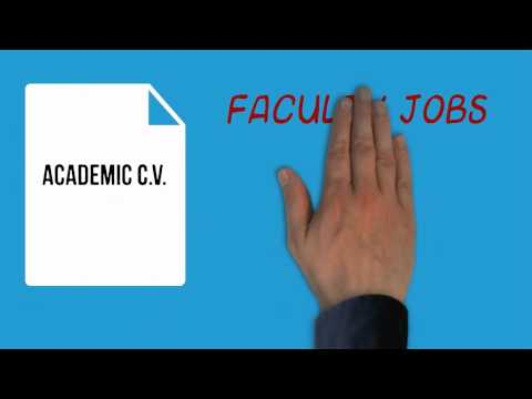 Scientific Resumes for graduate students/postdocs