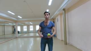 клубные танцы для парней  Учитесь танцевать при помощи яблока  Онлайн уроки