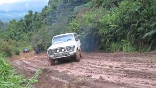 Salinatan Road after rain