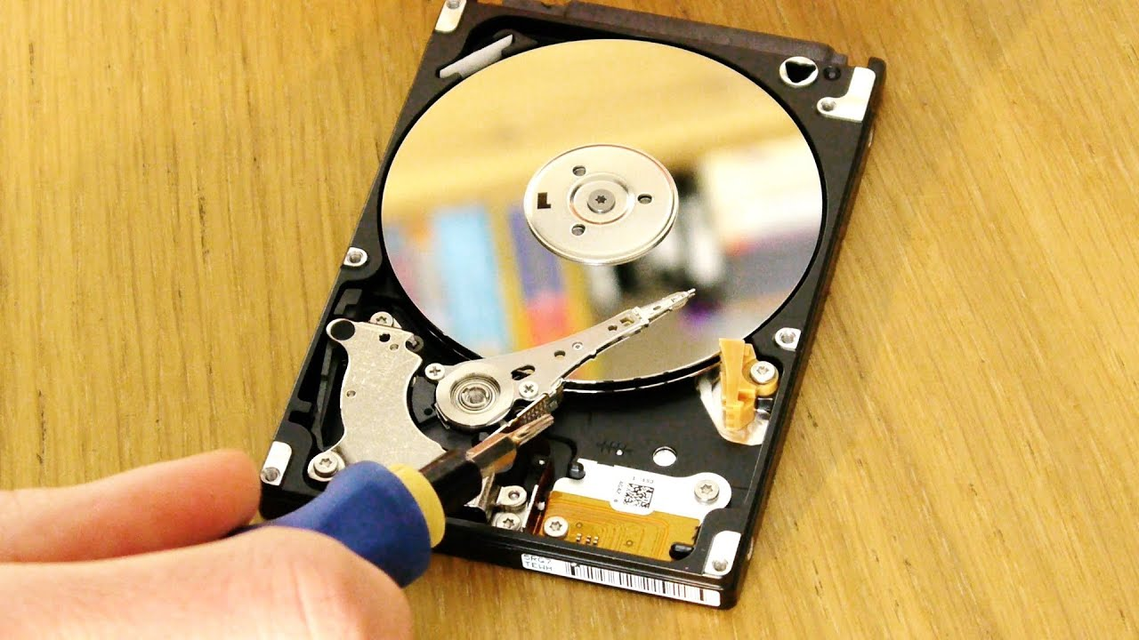 locked laptop hard drive