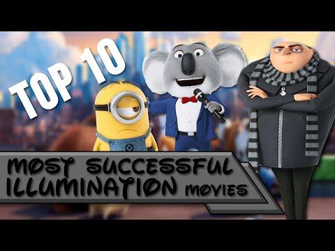 Top 10   Most Successful Illumination Movies