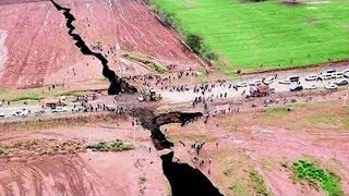 В Африке Появилась Огромная Трещина, Которая Расколет Континент