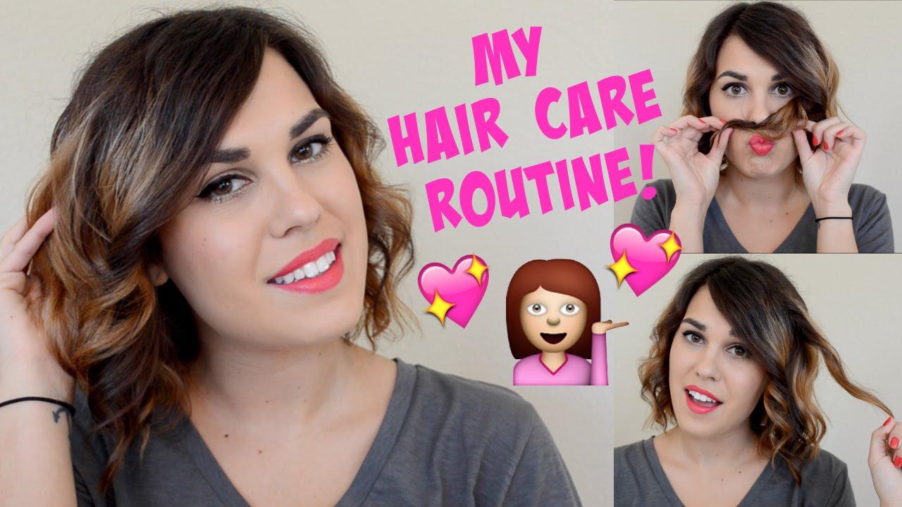 my hair care routine my hair care routine youtube
