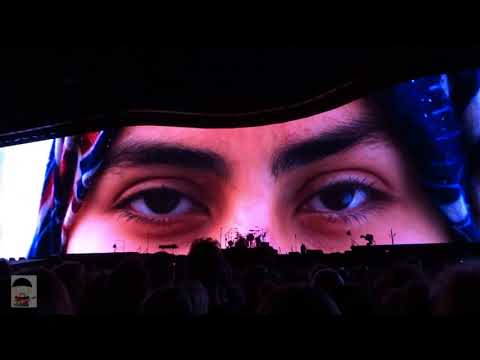 U2 Bussels Multicammatrix: mothers of the disappeared, encore, Miss Syria