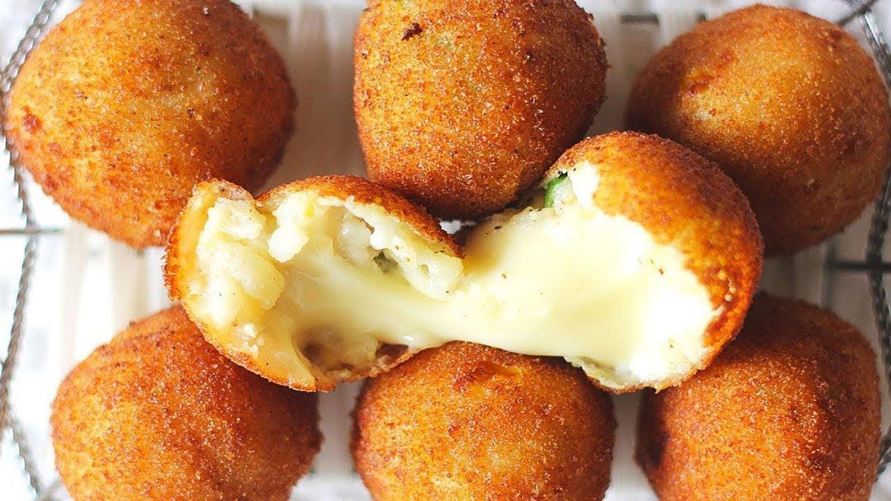 Homemade Cheese Pakora Recipe   Cheese Balls   Cheesy Snacks   Ramadan Recipes - YouTube