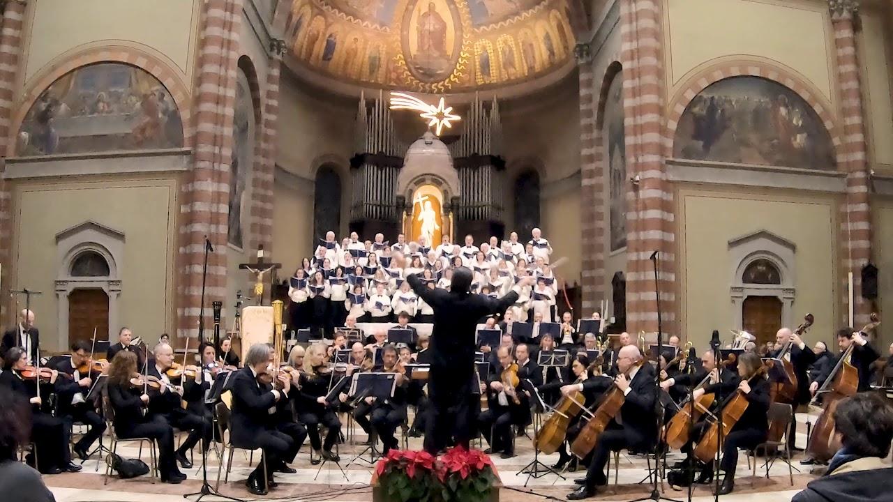 Italian Christmas carols: Tu scendi dalle stelle - White Voices, Symphonic Choir and Orchestra