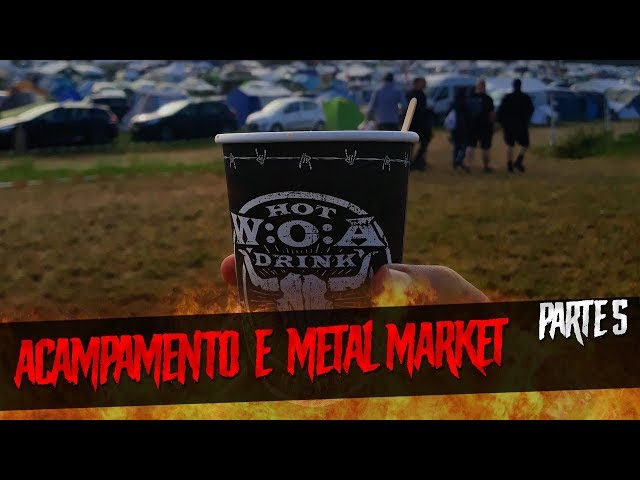 Metal Market, Hammerfall e Testament no primeiro dia do Wacken | Parte 5
