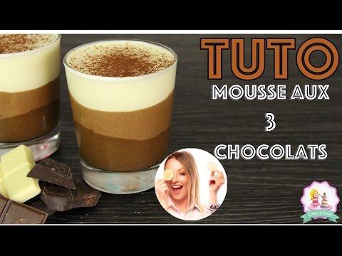 ♡•-recette-mousse-aux-3-chocolats-|-facile-et-rapide-•♡