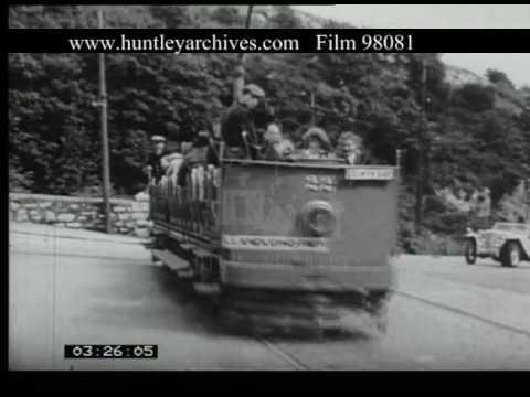 Colwyn Bay To Llandudno By Tram, 1950s - Film 98081