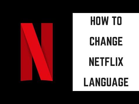 How to change subtitle language on netflix app