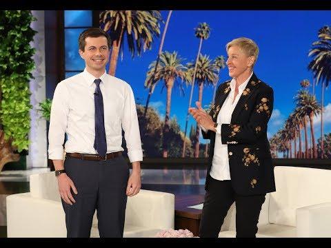 Ellen Gives Mayor Pete Buttigieg a Platform to Make His Big Announcement