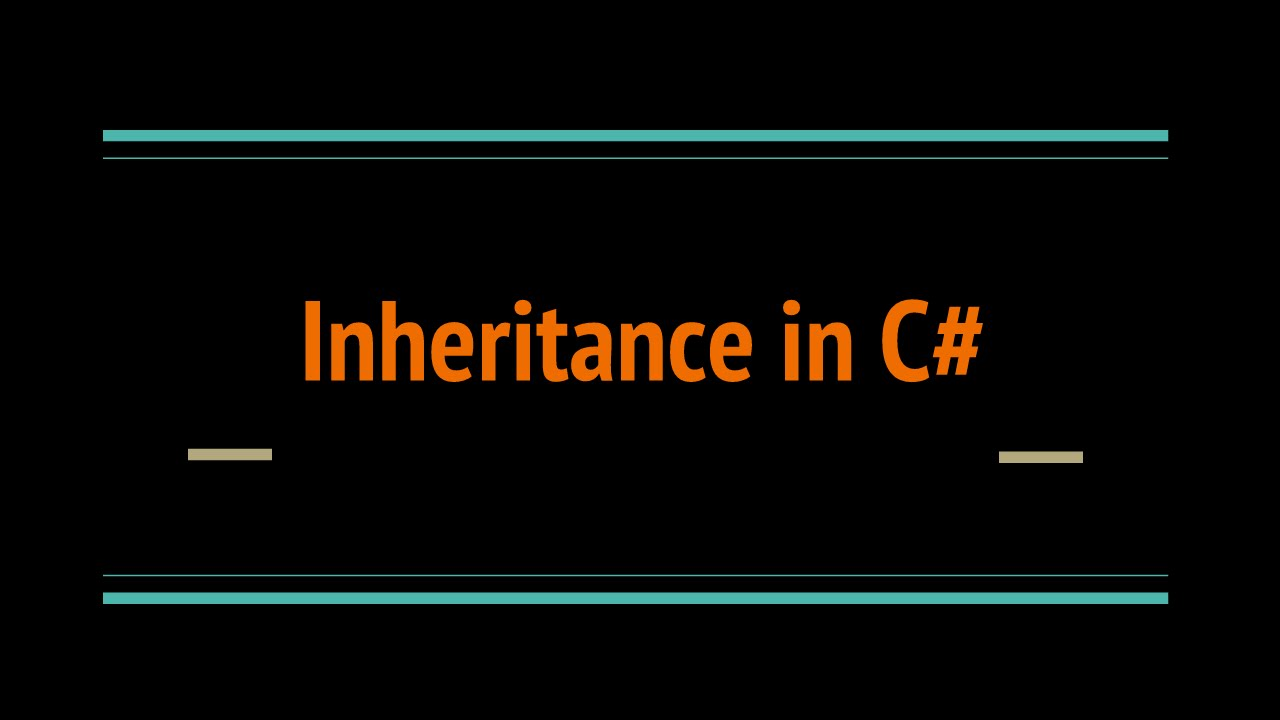 Image result for Inheritance in C#