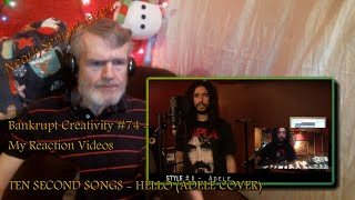 Video Bankrupt Creativity #74 - My Reaction Videos :  TEN SECOND SONGS - HELLO (ADELE COVER) download MP3, 3GP, MP4, WEBM, AVI, FLV Desember 2017