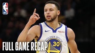 WARRIORS vs TIMBERWOLVES | Wild Overtime Finish In Minnesota | March 29, 2019