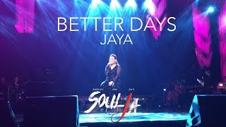 WOW!!! JAYA NAILED IT!!! GRABE!!! (BETTER DAYS - SOULJA CONCERT)