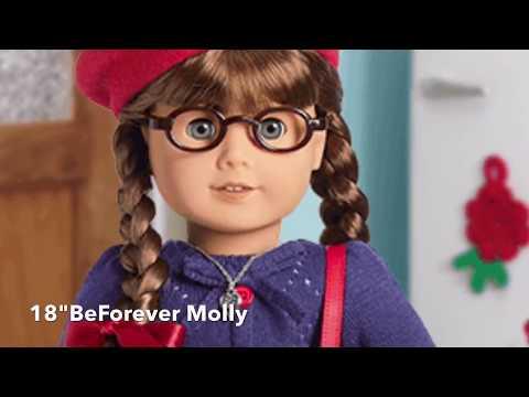 American Girl BeForever Molly Book's & 18