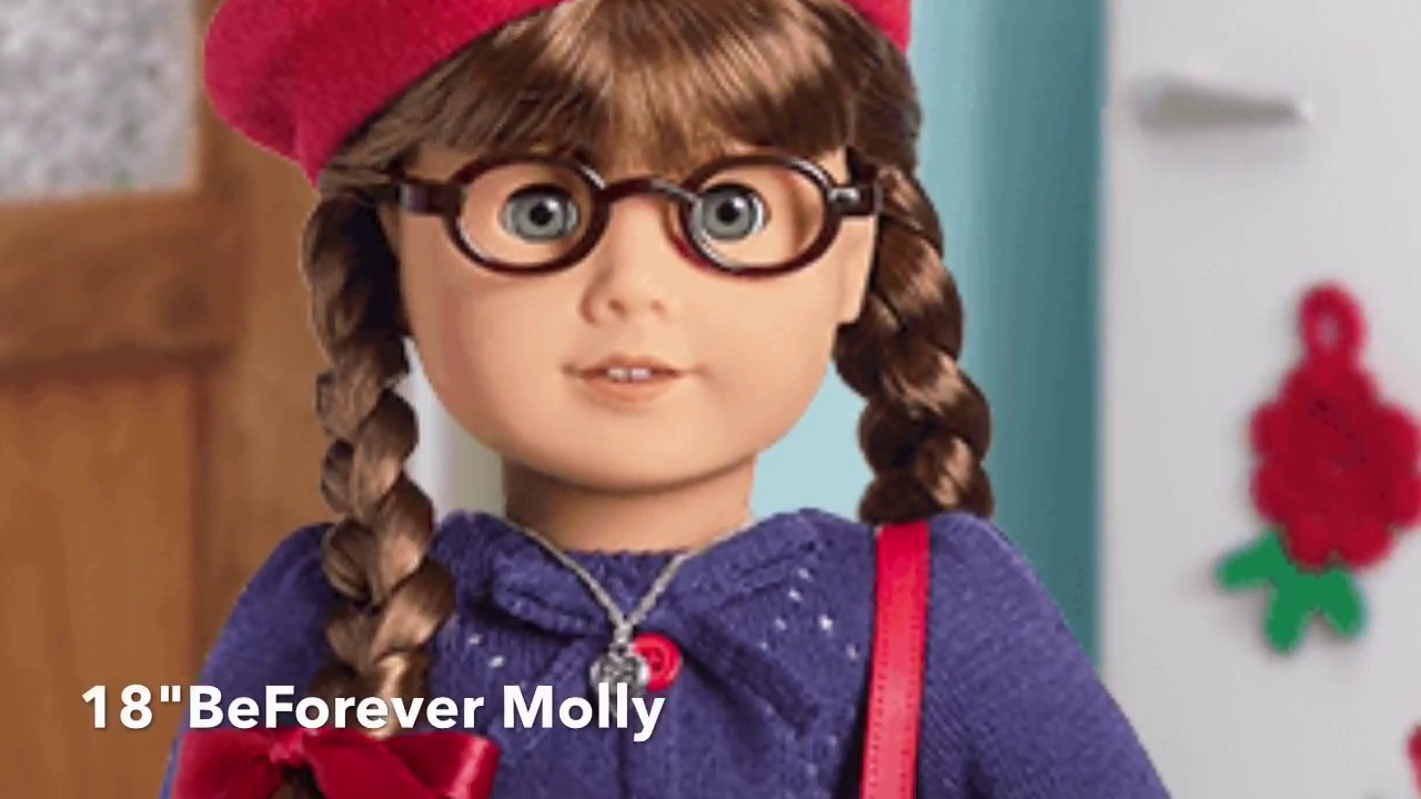 american girl beforever molly book 39 s 18 molly doll youtube. Black Bedroom Furniture Sets. Home Design Ideas