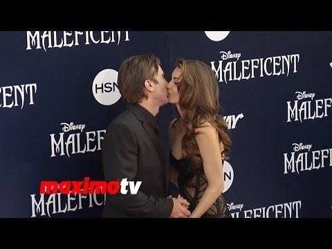"Sharlto Copley & Tanit Phoenix ""Maleficent"" World Premiere in Los Angeles"