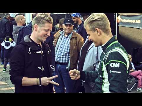 Örebro Race Day with Marcus Ericsson and Caterham F1