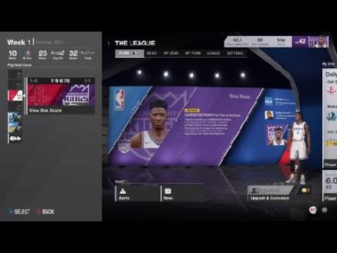 NBA LIVE 18: The One Off The Server, (Offline)  What's The Difference?