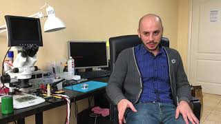 Обучение ремонту телефонов и ноутбуков в сервисном центре