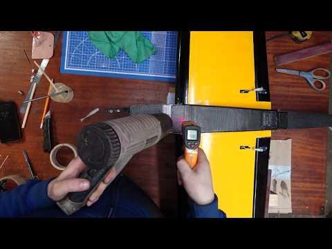 Дерзкая пилотага - начинаю покрывать карбоном часть 2