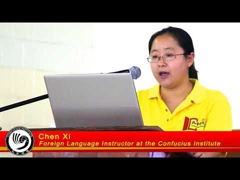 Confucius Institute Day 2017 - Study in China Lecture