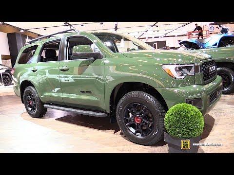 2020 Toyota Sequoia TRD Pro - Exterior Interior Walkaround - 2020 Montreal Auto Show