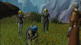 SWTOR - Jedi Consular Makes His First Lightsaber