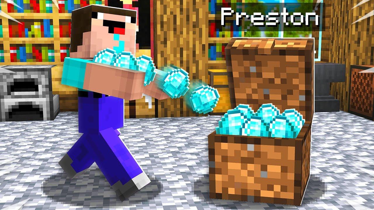 7 Ways to Steal Noob1234's Diamonds! - Minecraft thumbnail