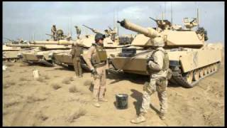 US Marines Corp main battle Tank Firing in Afghanistan, From YouTubeVideos
