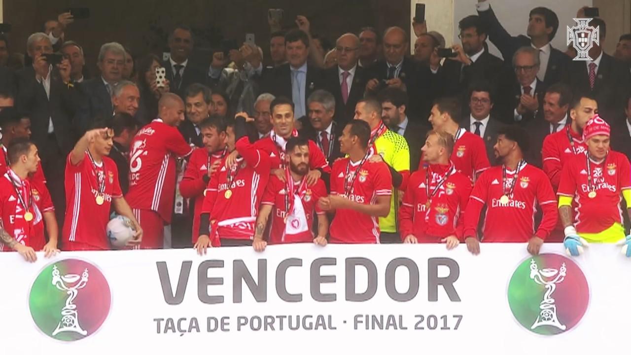 Taca de portugal placard