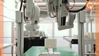 robotic pick and place system cybernetik technologies pvt ltd
