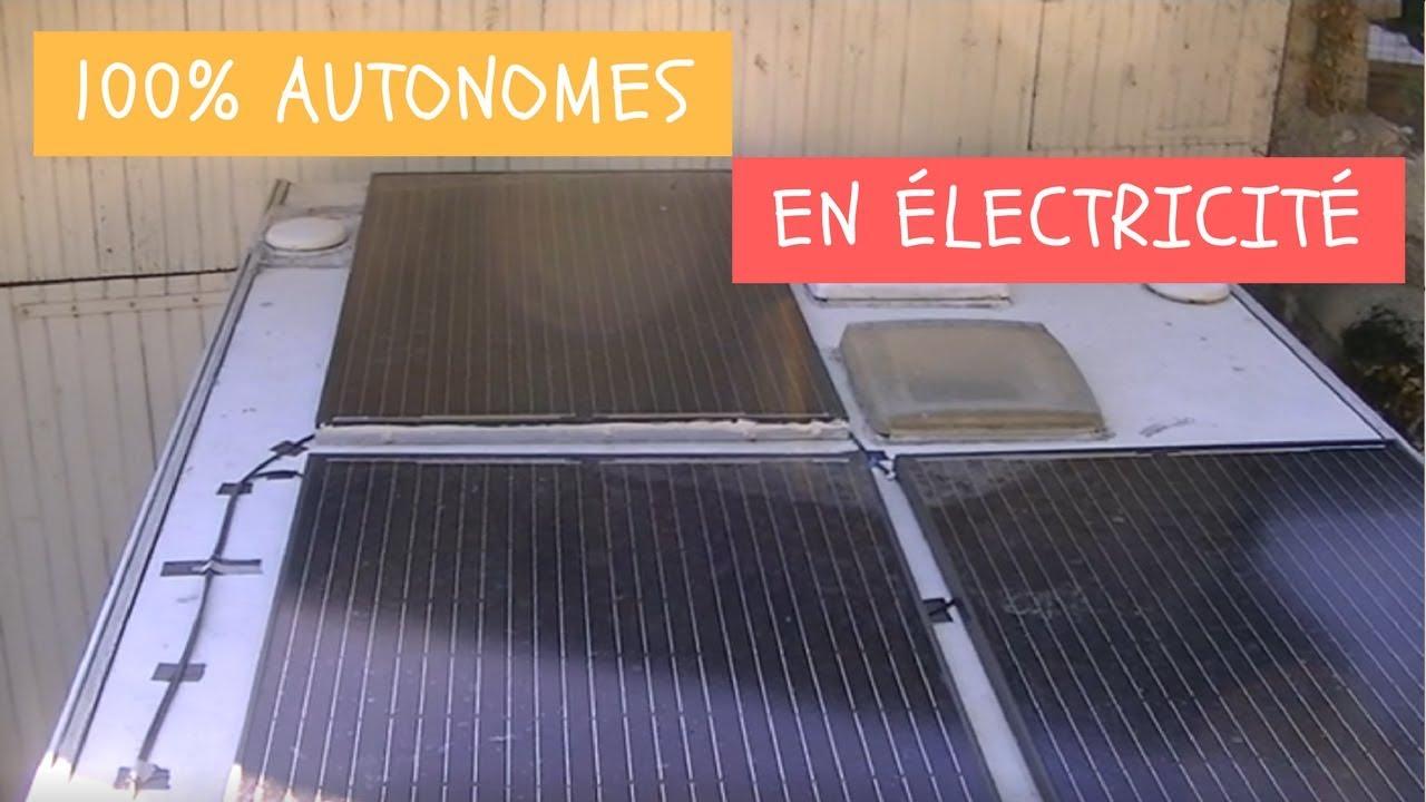 installation de panneaux solaires pour notre caravane youtube. Black Bedroom Furniture Sets. Home Design Ideas