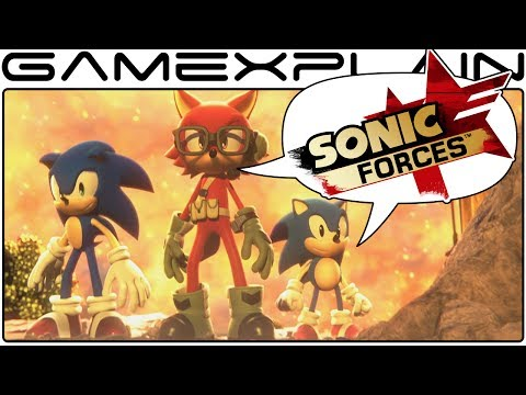 Sonic Forces DISCUSSION - Our Thoughts on the Customizable Avatar Reveal with Tails' Channel!