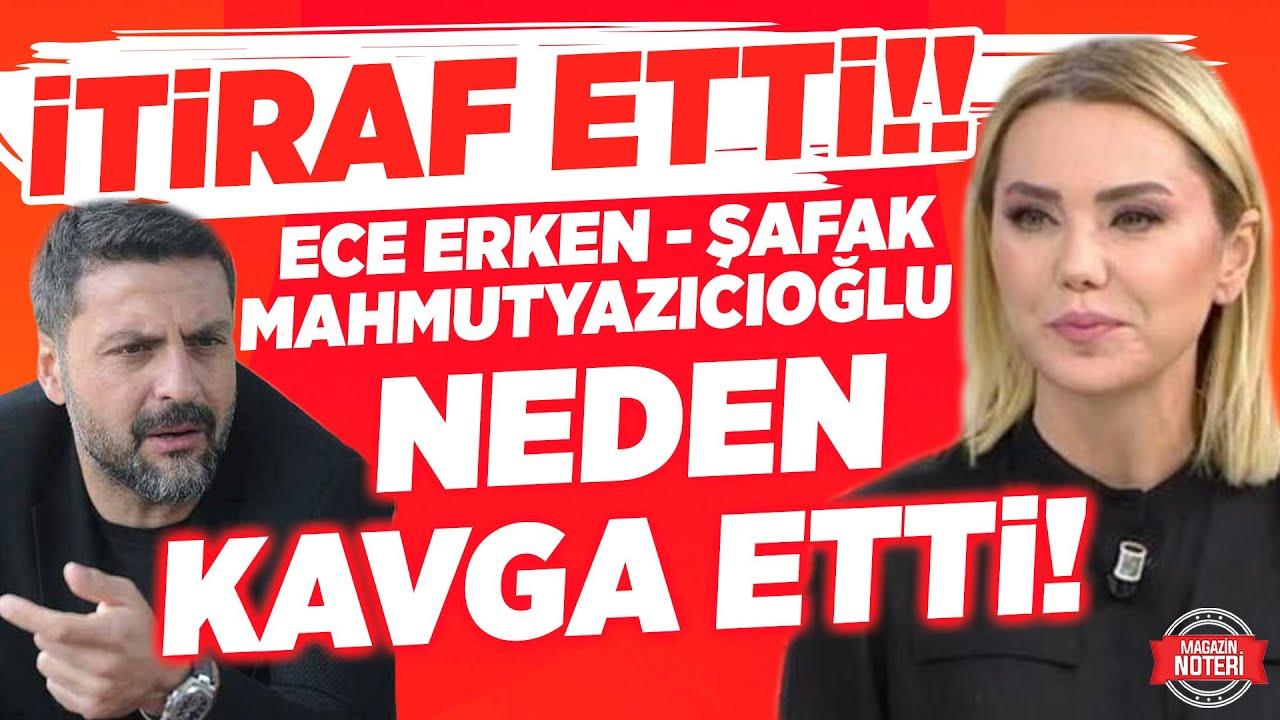 Ece Erken İLK KEZ Anlattı! Şafak Mahmutyazıoğlu ile Neden Kavga Etti!   Magazin Noteri