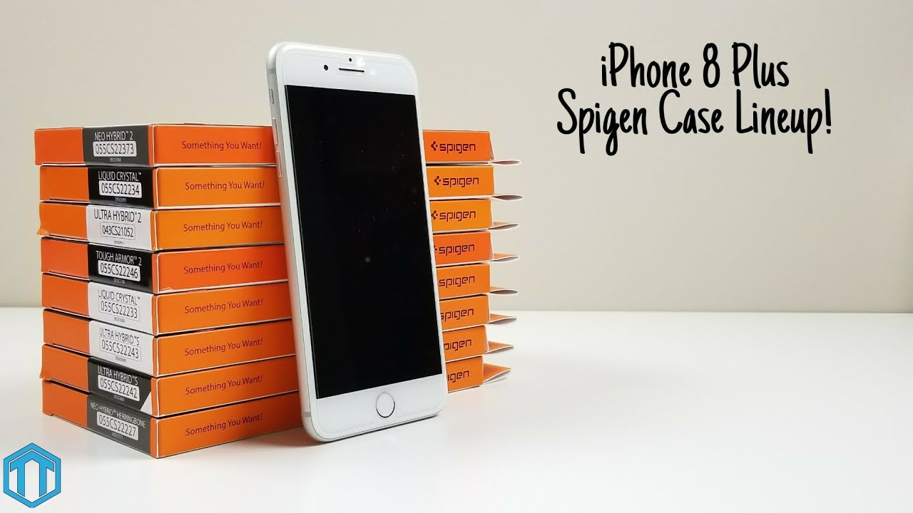 detailed look 4715a a25e5 iPhone 8 Plus Spigen Case Lineup!