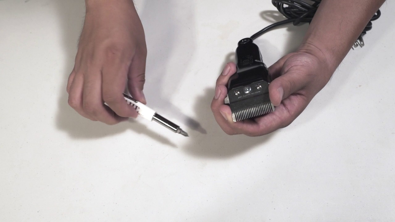 Wahl How To Replace A 3 Hole Clipper Blade Youtube