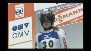 Zao 2012 Anette Sagen 88 m 2 konkurs.