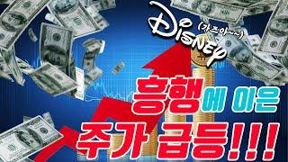 [주식투자]시장ASMR_디즈니+흥행에 디즈니 급등…국내…
