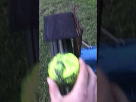 DIY pitching machine homemade (softball) how to