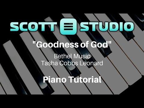 Goodness of God Bethel Music/Tasha Cobbs Leonard Piano Tutorial thumbnail