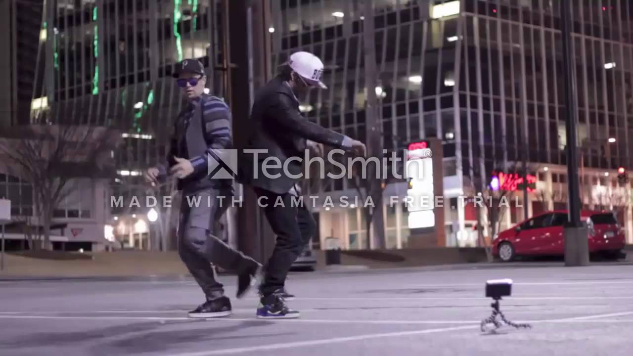 robot dance out standing