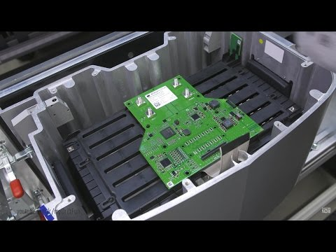 Mercedes Energy Storage Home Battery Production