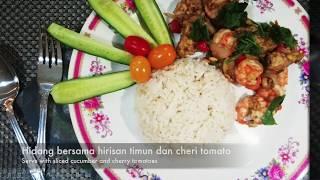 Resepi 2: Udang dan Tempeh | 21 Resepi Diet Kurus