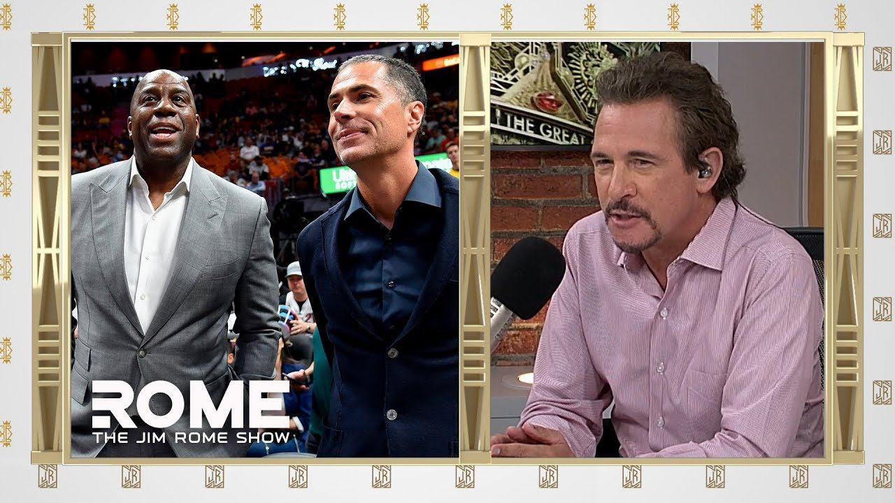 Magic Johnson Airs Out The Lakers   The Jim Rome Show