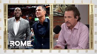 Magic Johnson Airs Out The Lakers | The Jim Rome Show